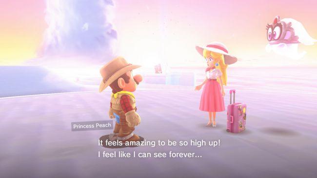 Super Mario Odyssey Peach