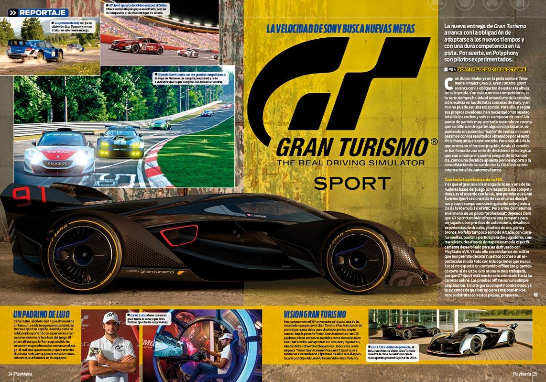 Todo sobre Gran Turismo Sport en Playmanía 228