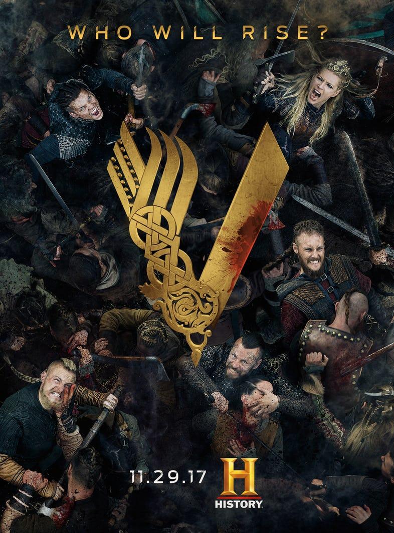 Resultado de imagen de poster vikings