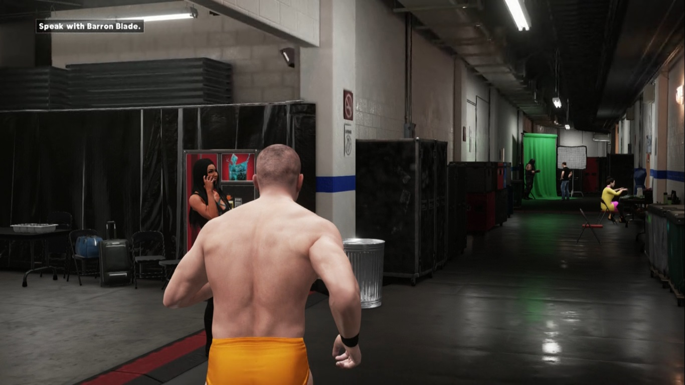 WWE 2K18 - Backstage