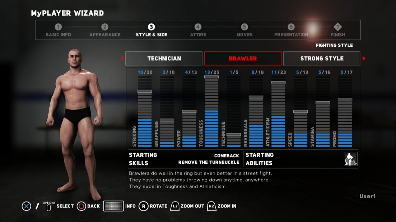 WWE 2K18 - Editor