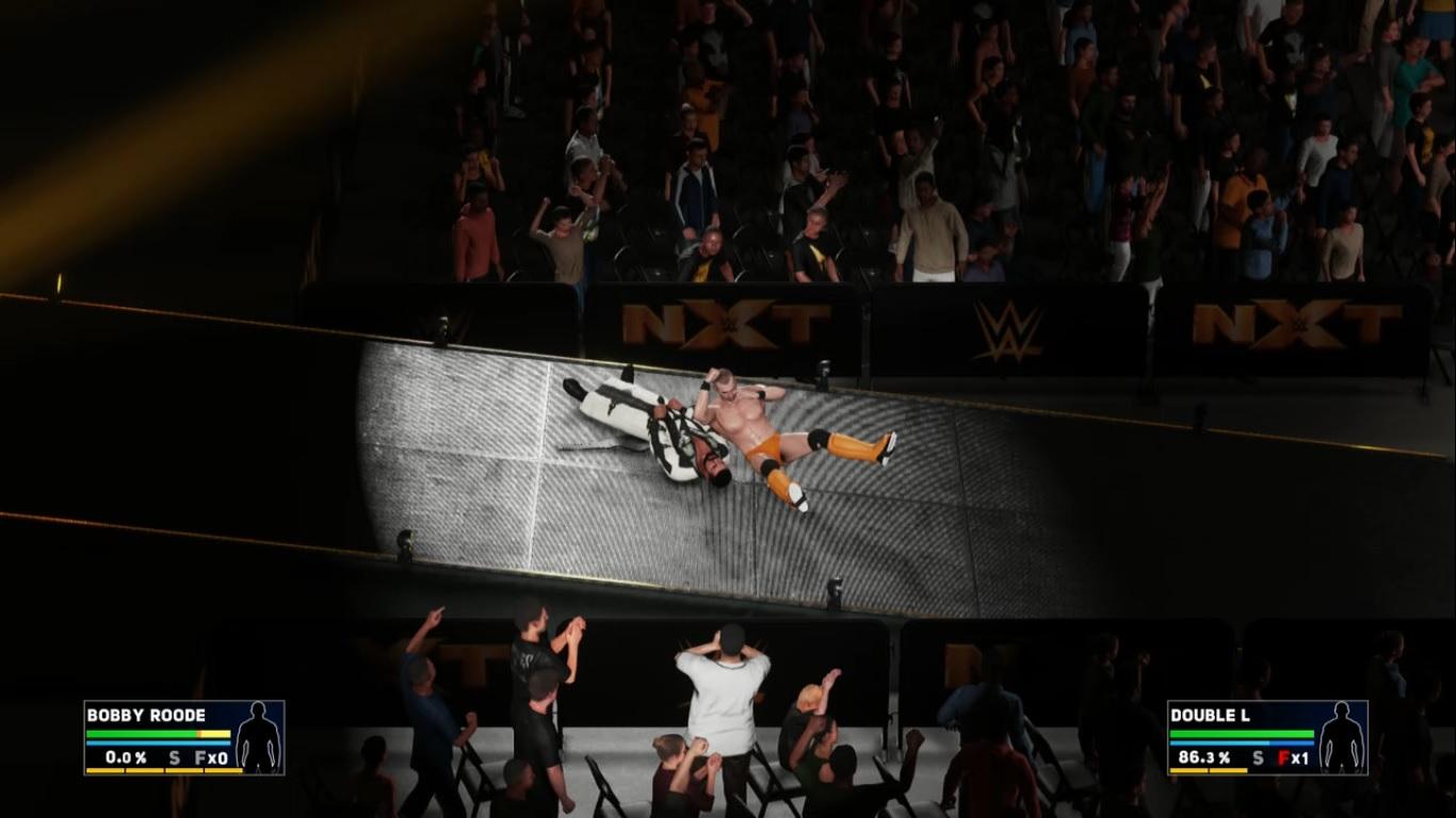 WWE 2K18 - Mi Carrera