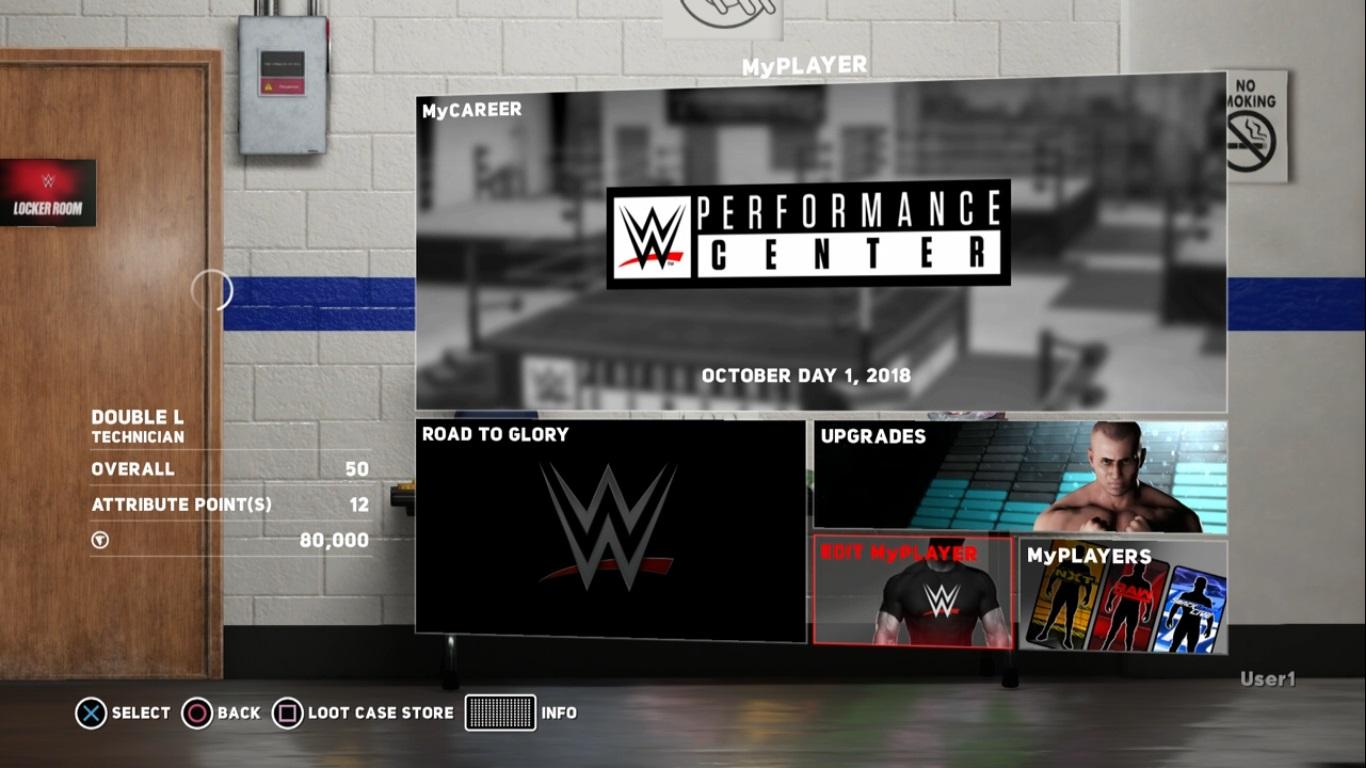 WWE 2K18 - Mi Jugador