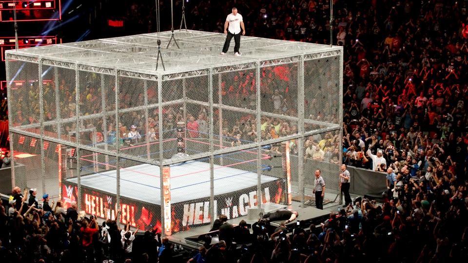 WWe Hell in a Cell 2017 - Kevin Owens vs. Shane McMahon