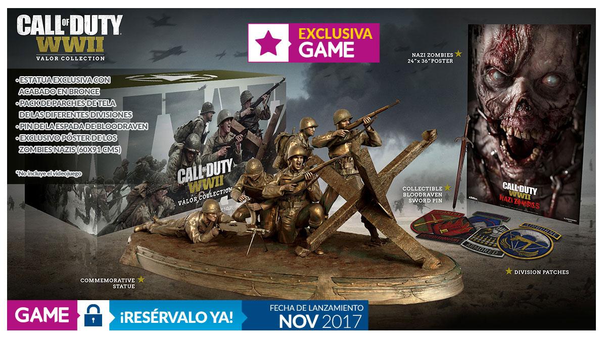 Call of Duty WWII edición Valor exclusiva Game