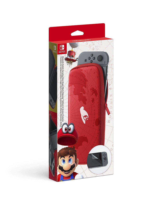 Funda oficial Mario Odyssey Nintendo Switch