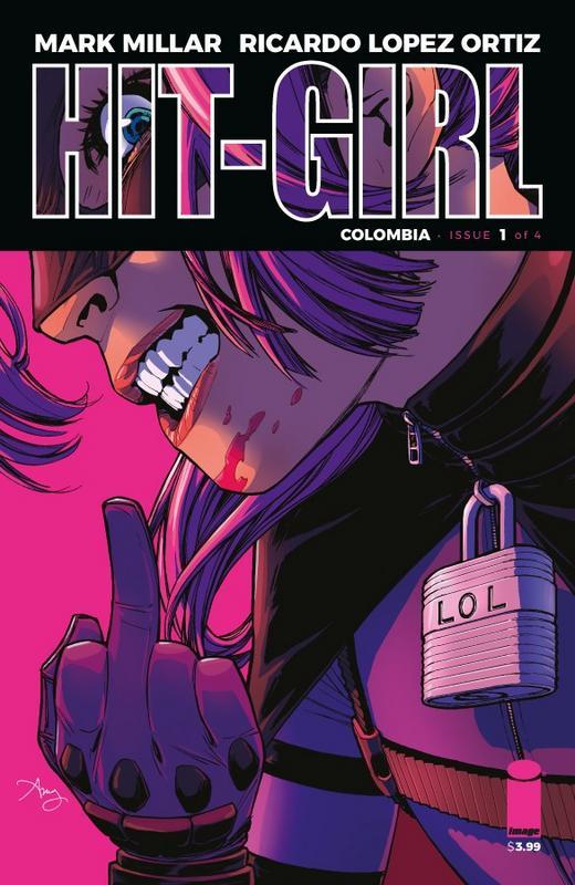 Mark Millar anuncia una nueva serie de Hit-Girl