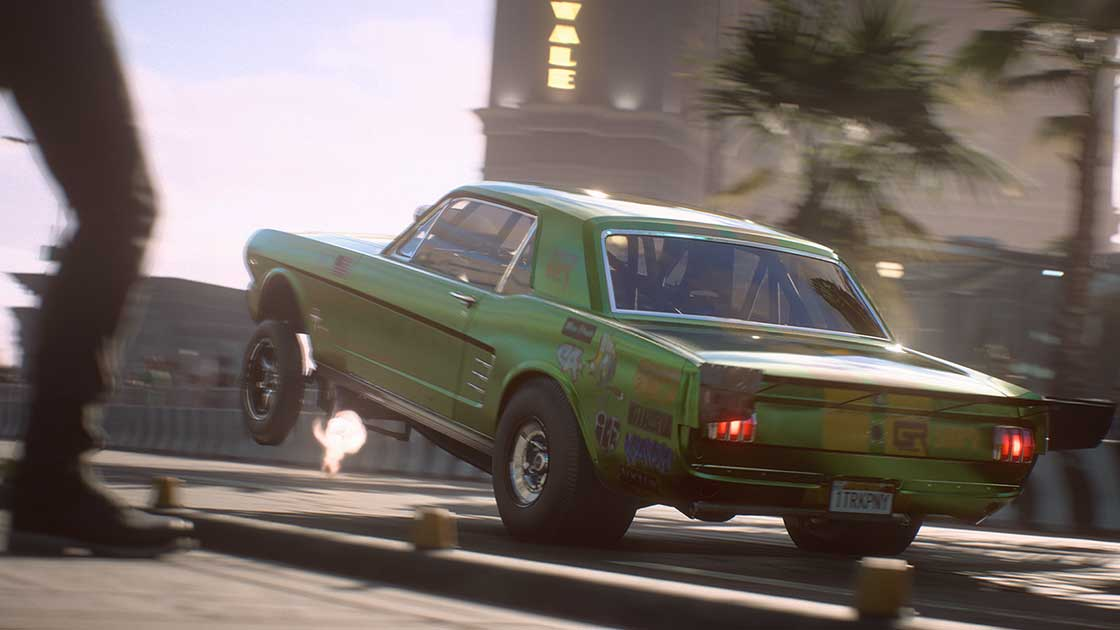Need for Speed Payback Coches abandonados