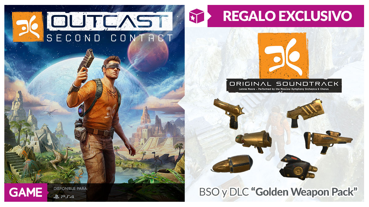 Outcast Second Contact en GAME