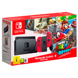 Pack Switch + Super Mario Odyssey
