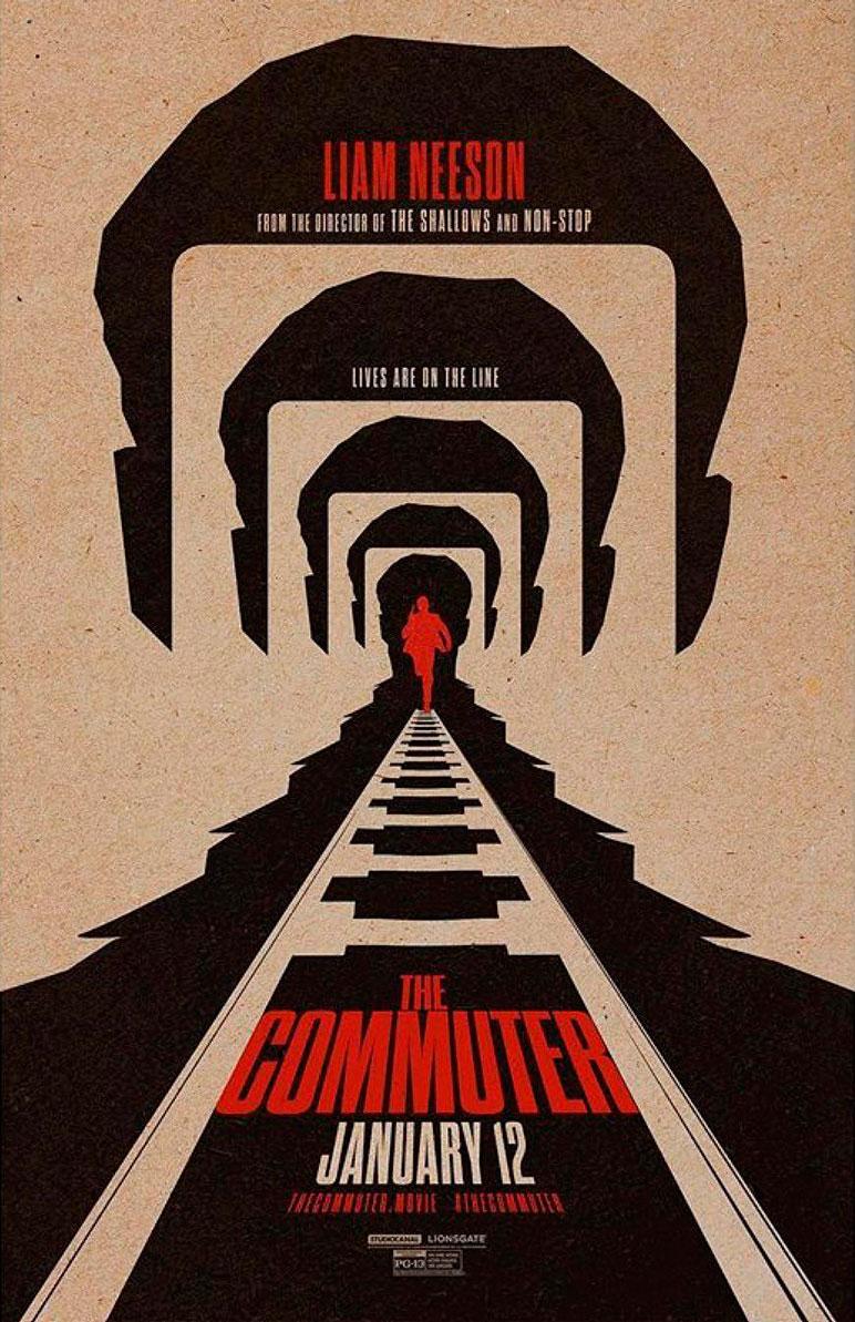 El pasajero (The commuter) póster