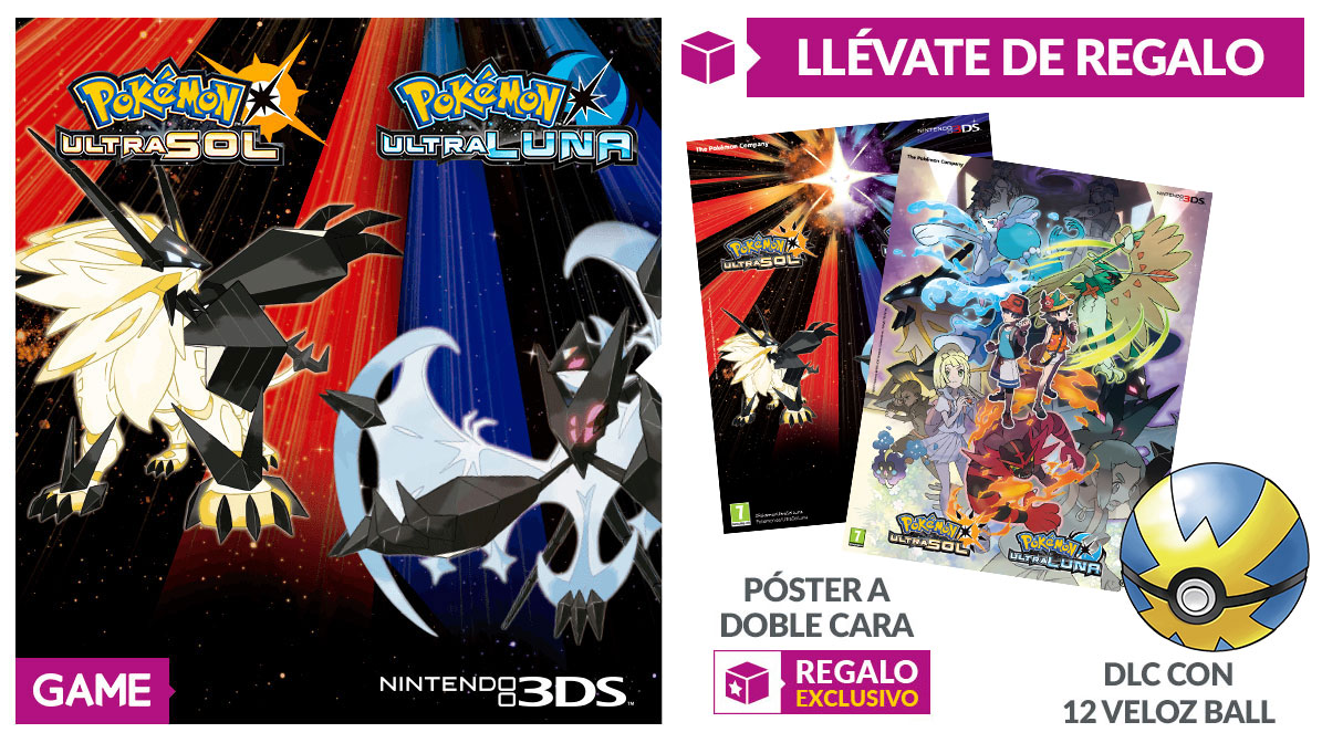 POkémon Ultrasol y Ultraluna en GAME