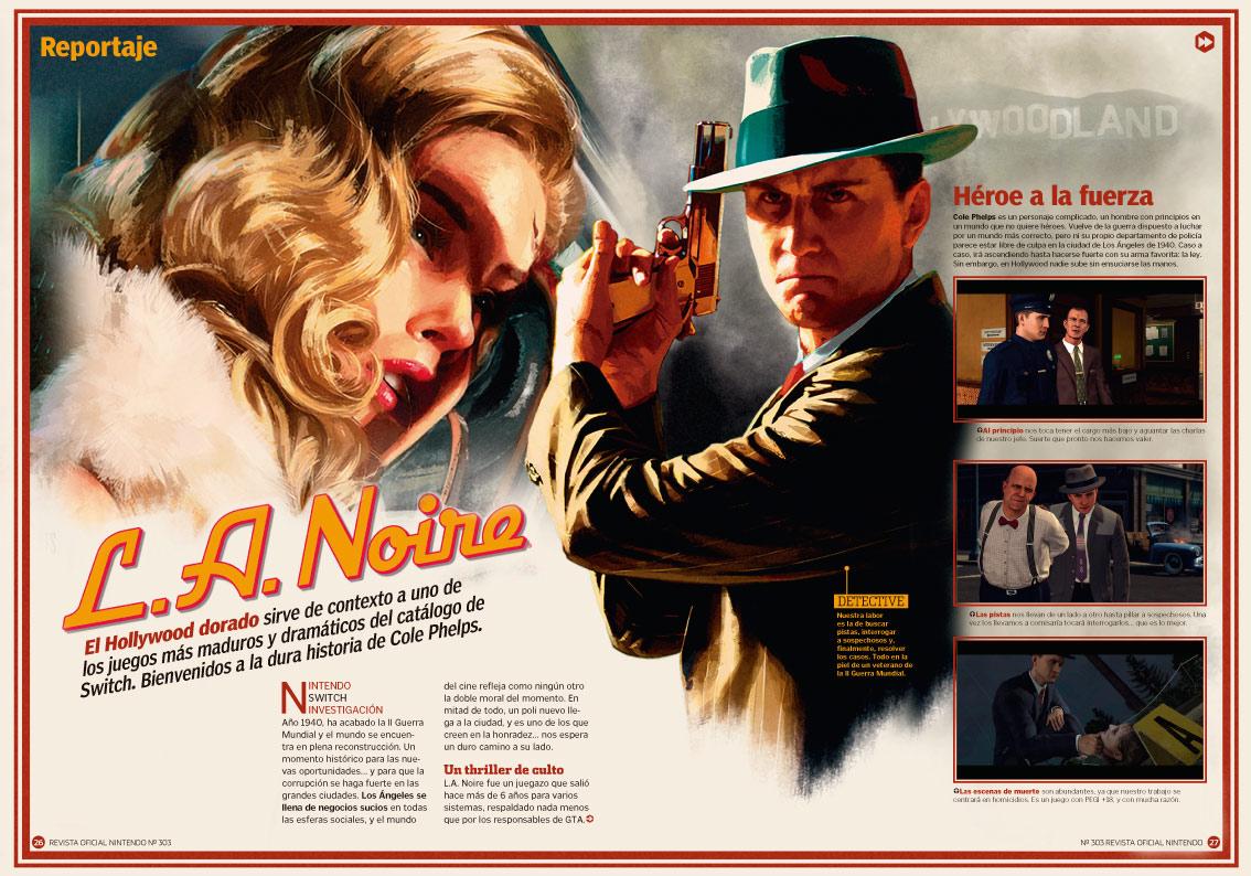 Reportaje L.A. Noire RON 303