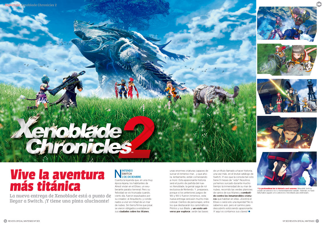 Reportaje Xenoblade Chronicles 2
