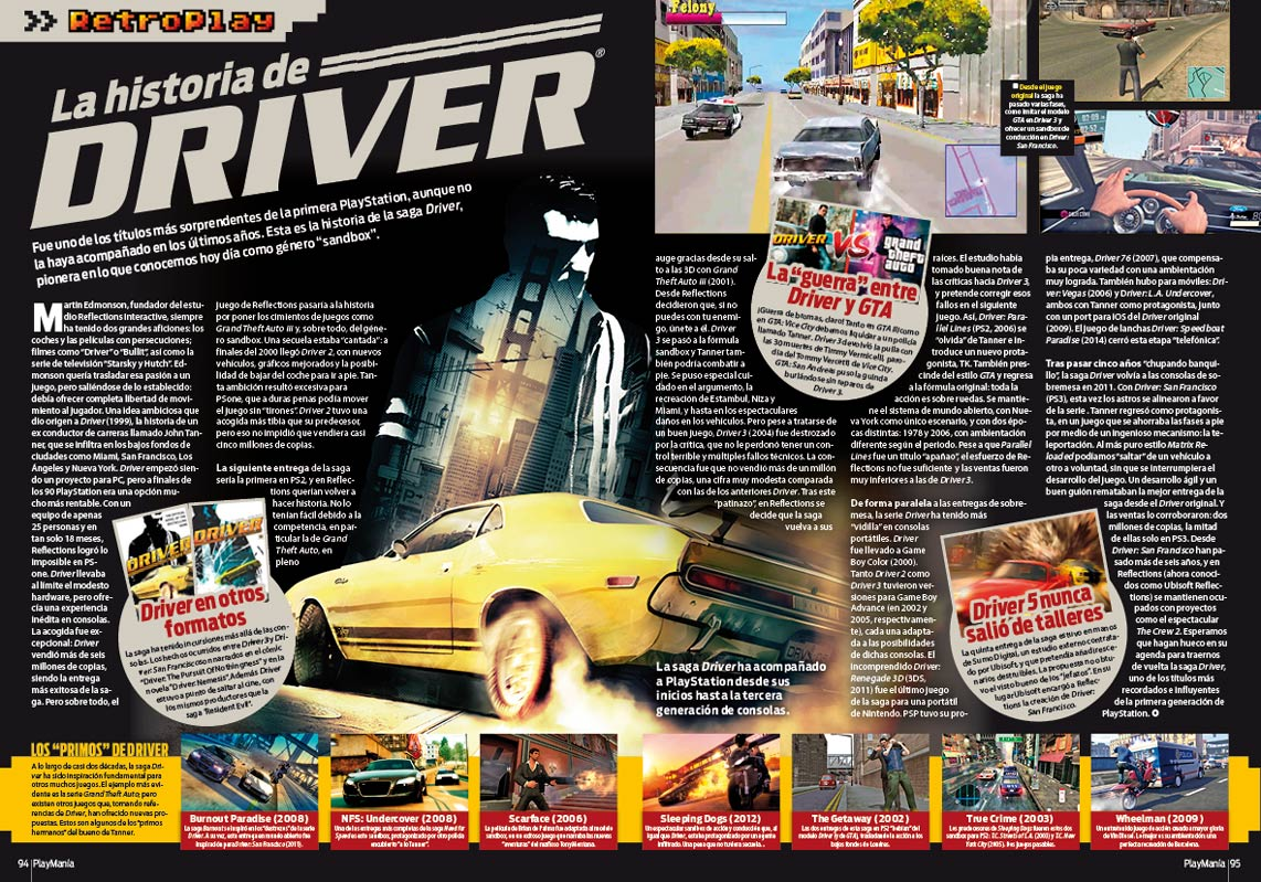 Retroplay Driver en Playmania229
