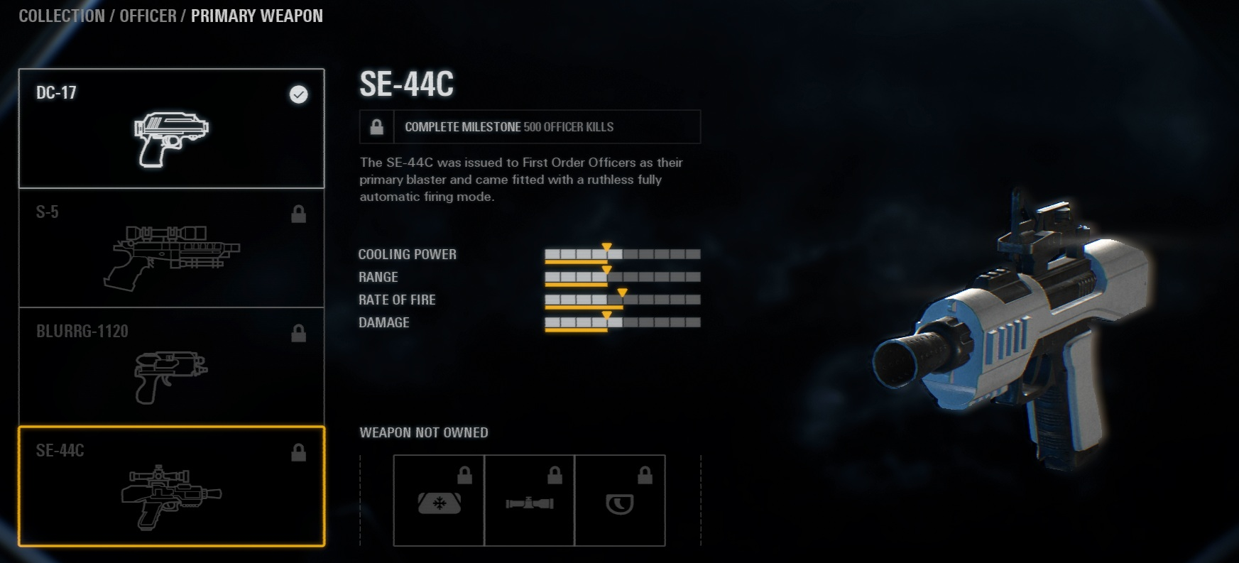 Star Wars Battlefront 2 Armas