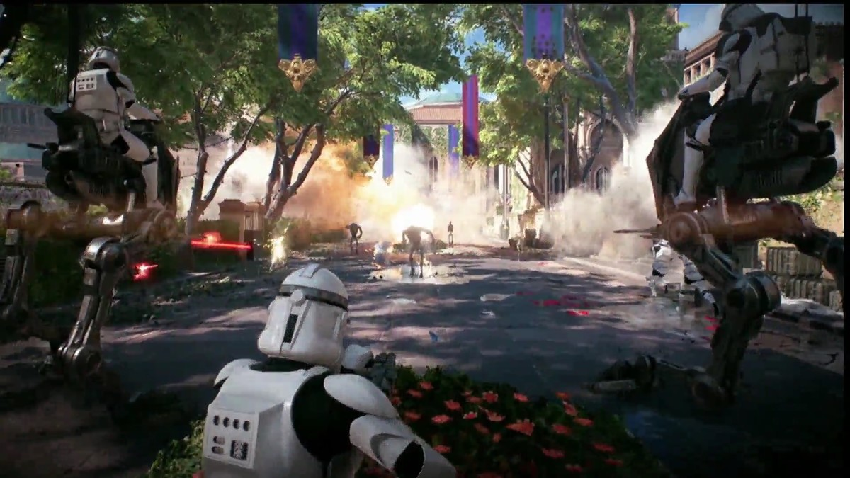 Star Wars Battlefront 2 Ataque