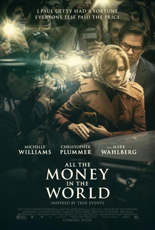 Todo el dinero del mundo - Nuevo póster con Christopher Plummer