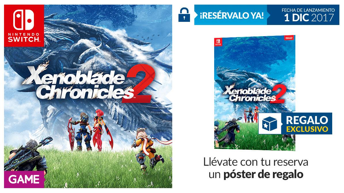 Xenoblade Chronicles 2 regalo exclusivo GAME