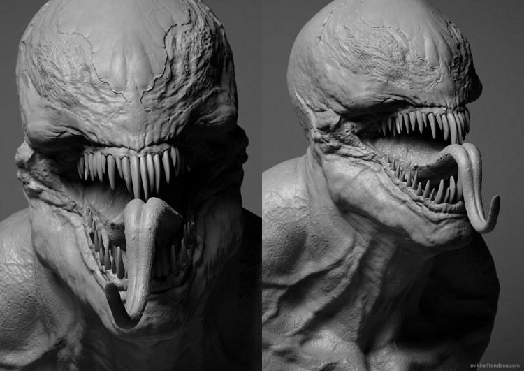Así sería el diseño de Venom