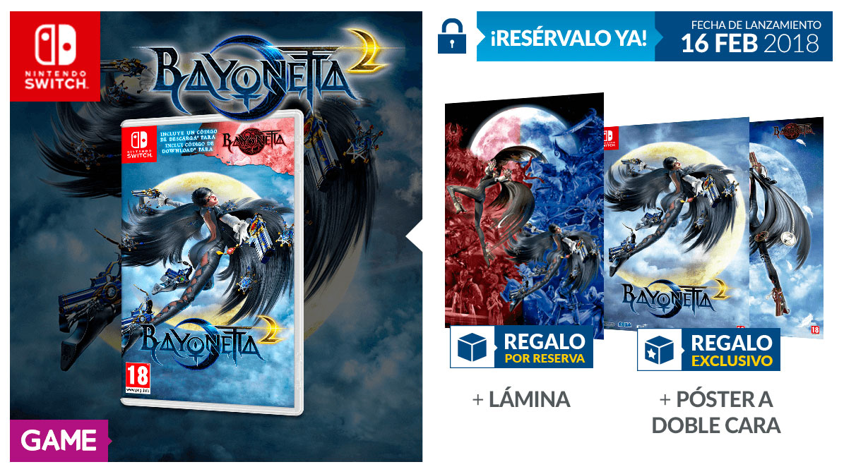 Bayonetta 2 Nintendo Switch GAME