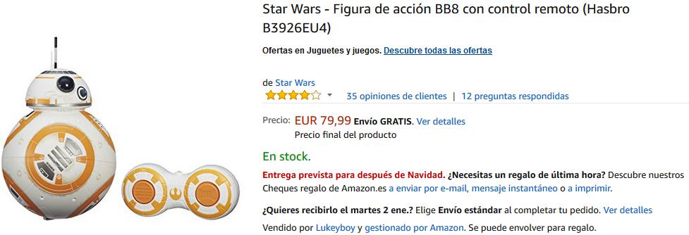 BB-8 Hasbro Radiocontrol