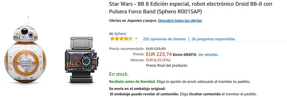 BB8-Edición Especial Sphero