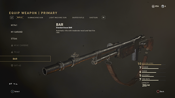 Call of Duty WWII - BAR