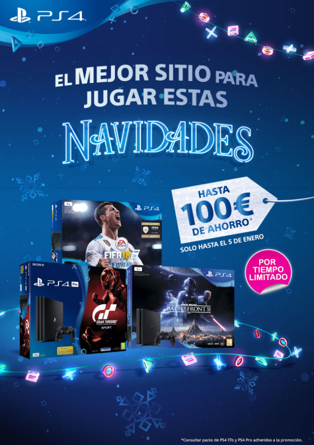 Descuentos packs PS4 1TB