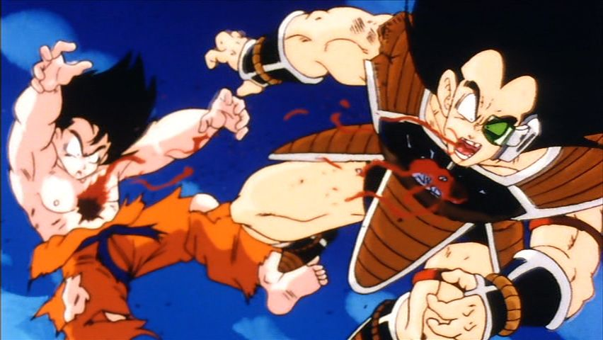 Dragon Ball Z sangre