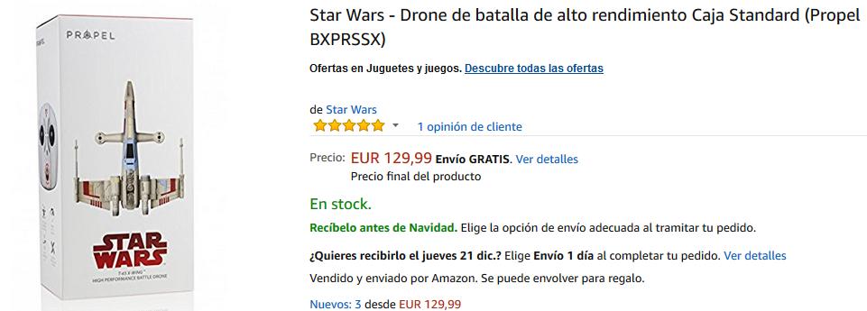 Dron de Batalla X-Wing de Propel