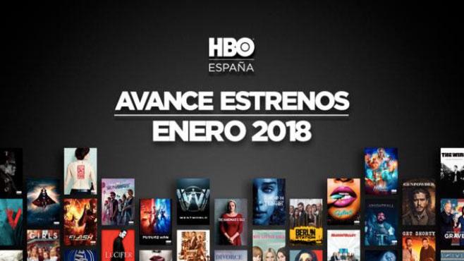 HBO estrenos 2018