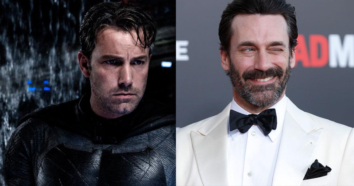 ¿Se imaginan a Don Draper como el nuevo Batman?