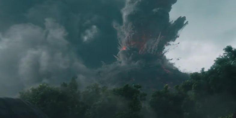 Jurassic World: El reino caído volcán