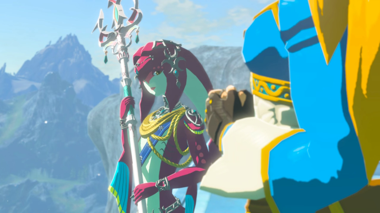 Zelda Breath of the Wild DLC 2 La Balada de los Elegidos