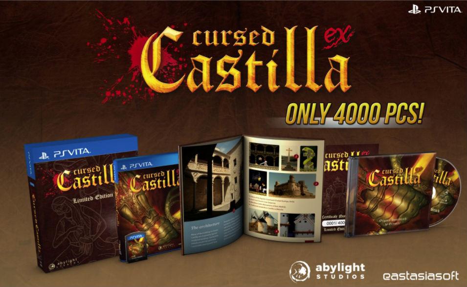 Maldita Castilla EX PS Vita edición coleccionista