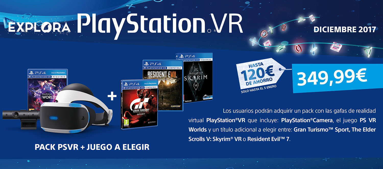 Oferta PlayStation VR