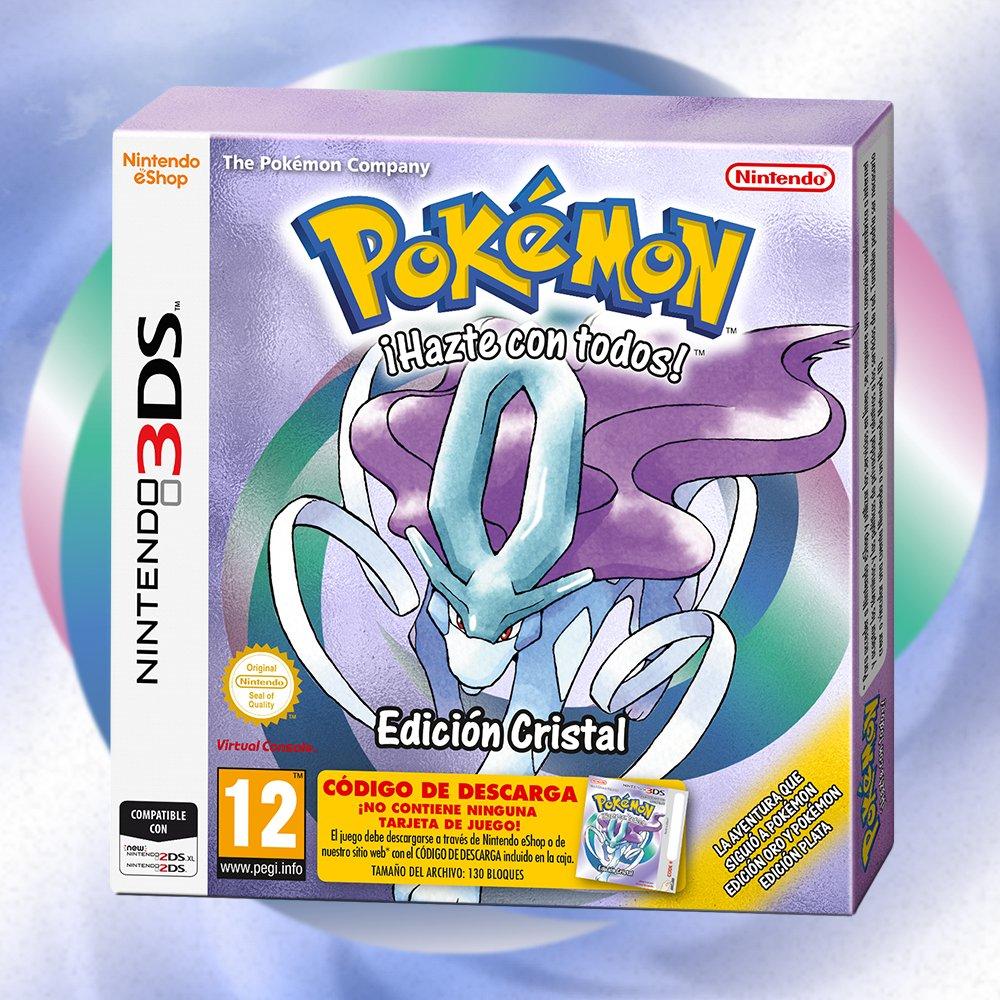 Pokémon Edición Cristal para 3DS