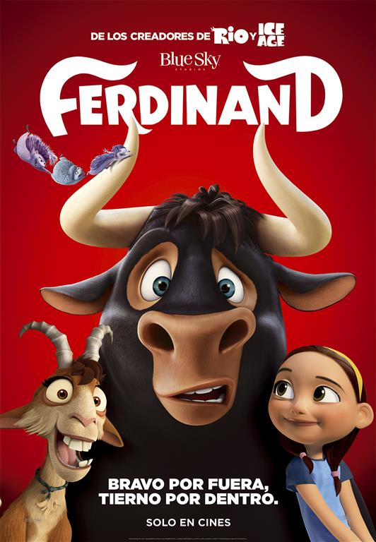 Póster definitivo Ferdinand
