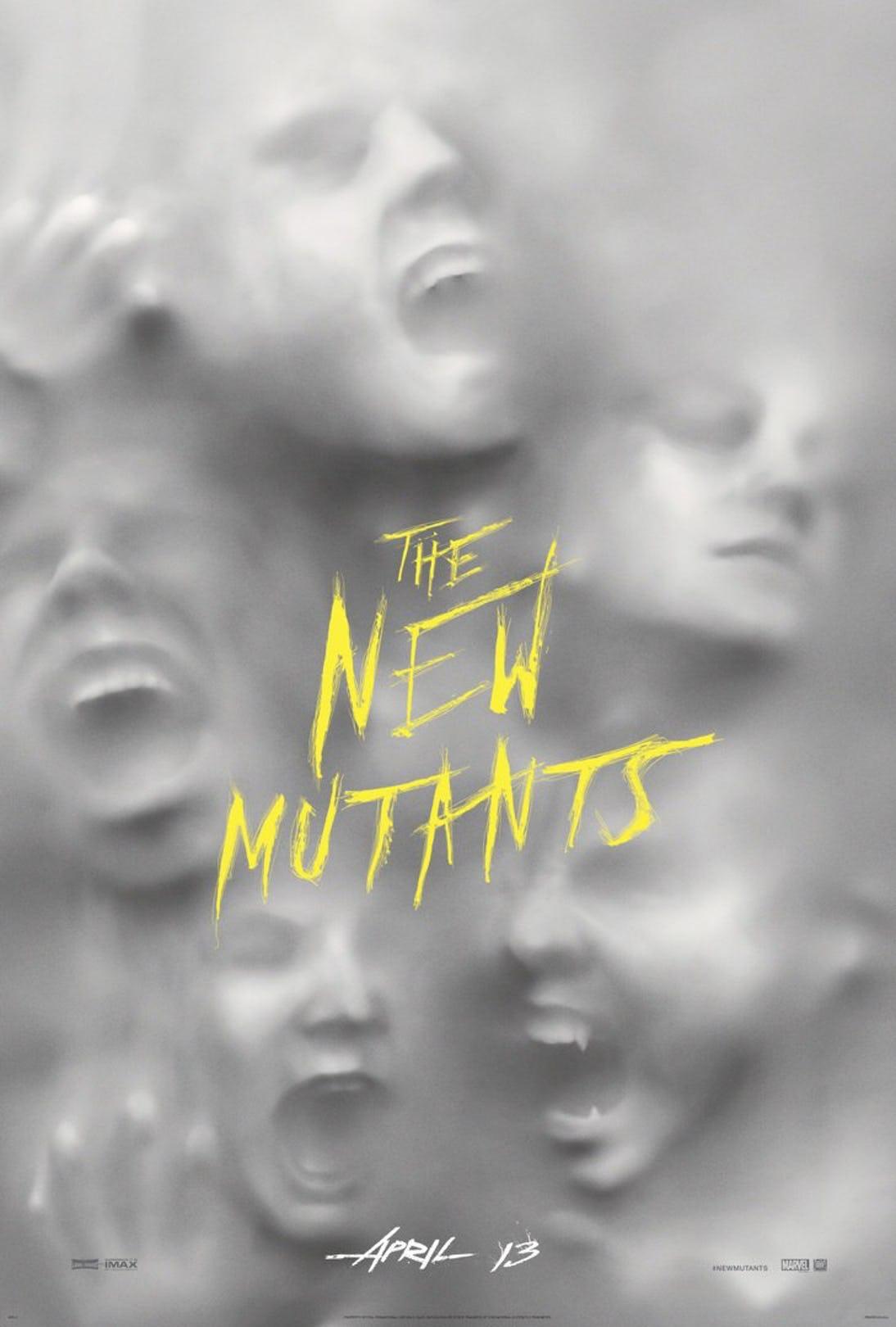Póster Los nuevos mutantes