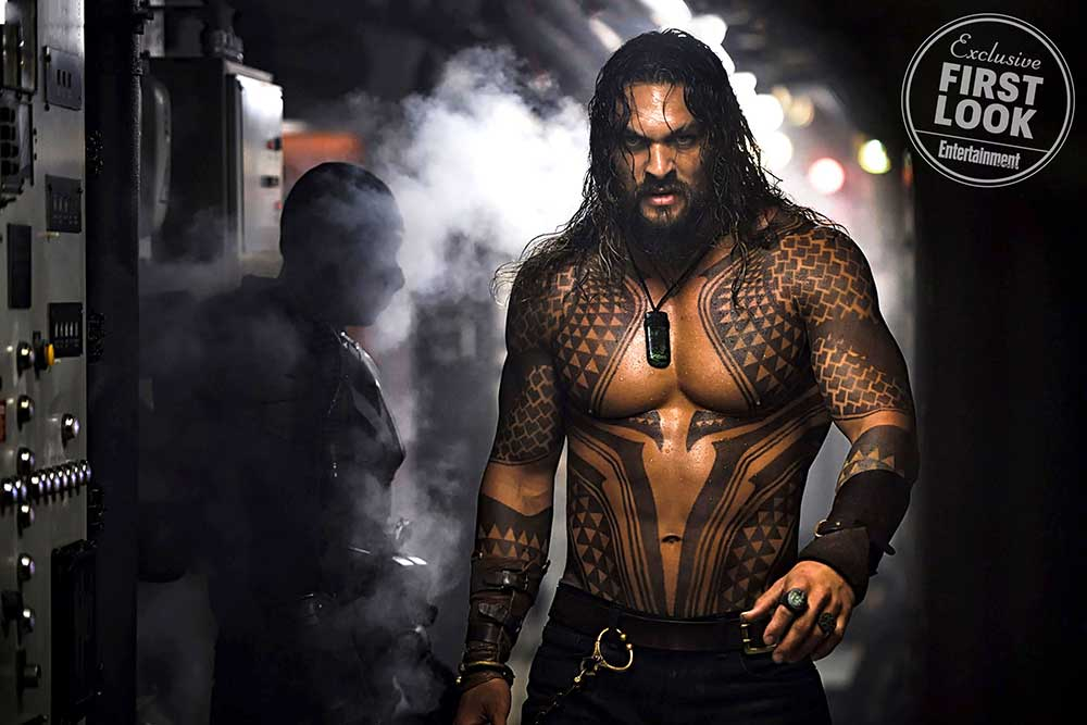 Primera imagen de Jason Momoa en Aquaman