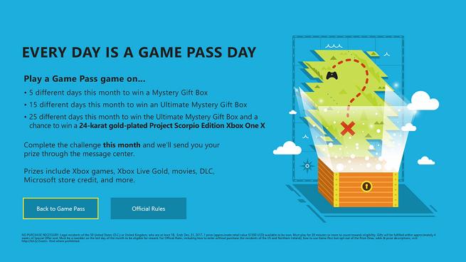 Microsoft sortea una Xbox One X de oro de 24 quilates