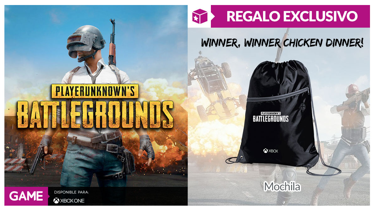 PUBG para Xbox One en GAME