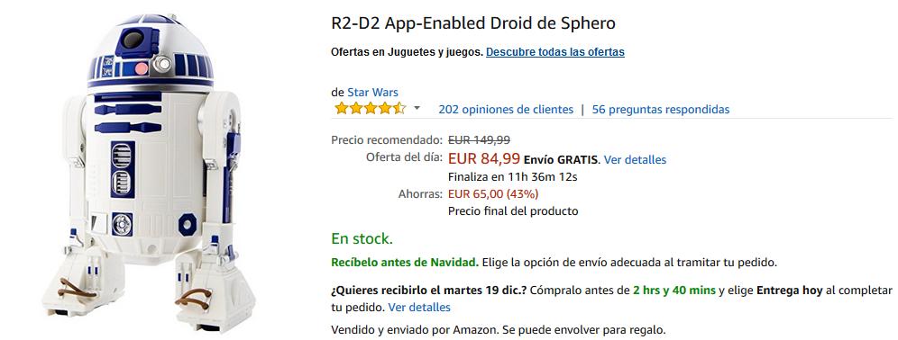 R2-D2 App-Enabled Droid Sphero