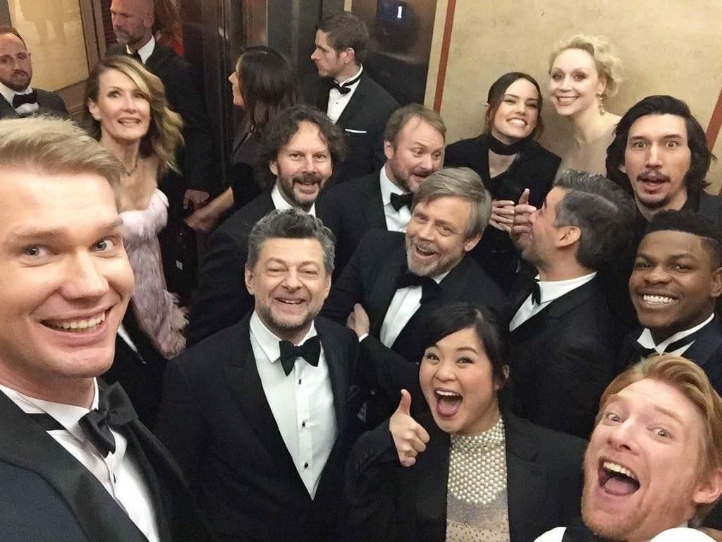 Star Wars: Los últimos Jedi selfie