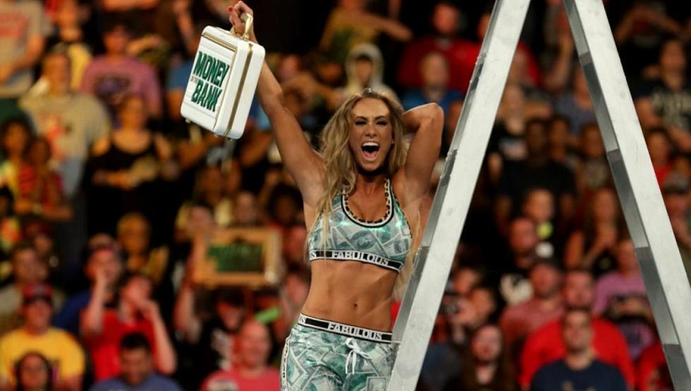 WWE Money in the Bank 2017 - Carmella