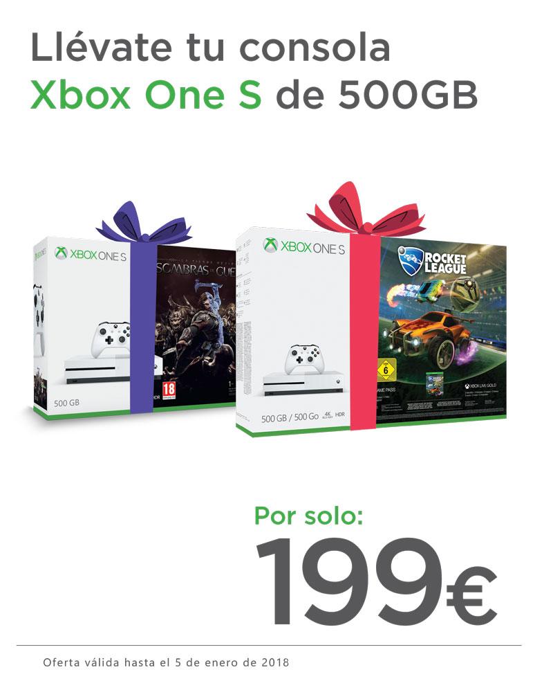 Xbox One ofertas Navidad
