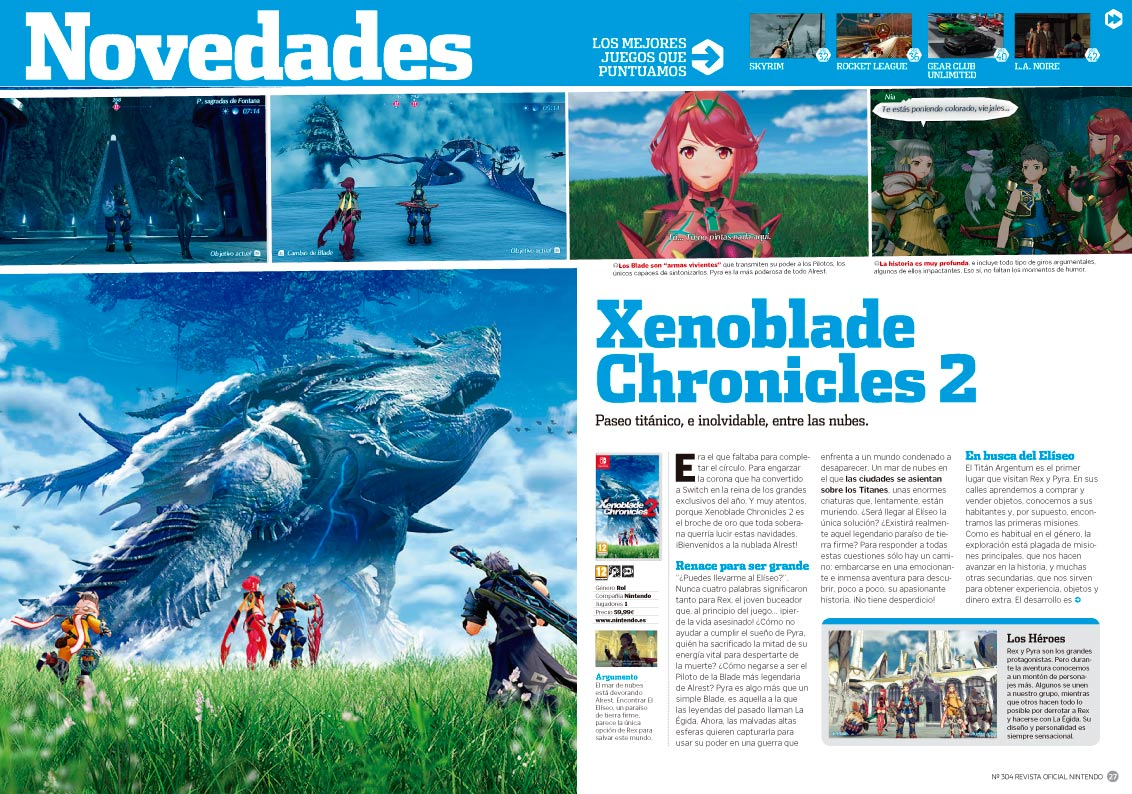 Xenoblade Chronicles 2 - RON 304