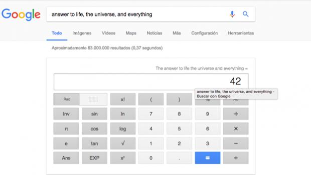 La respuesta al origen del universo, según Google