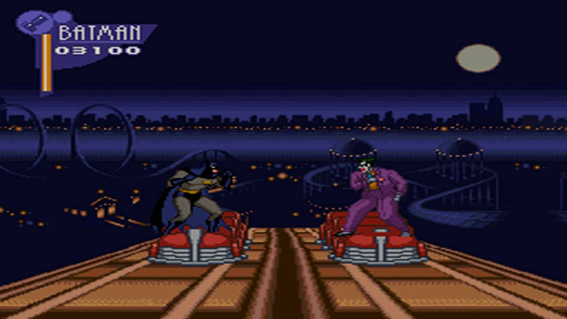 The Adventures of Batman and Robin SNES
